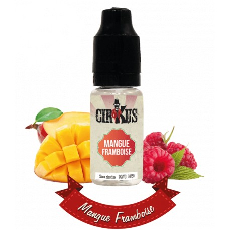 E-liquide Cirkus Mangue Framboise