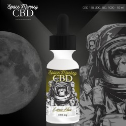 E-liquide CBD Lemon Haze par SpaceMonkey