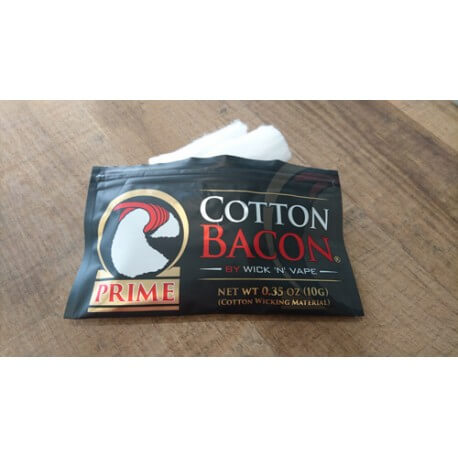 Cotton Bacon PRIME de Wick'N'Vape