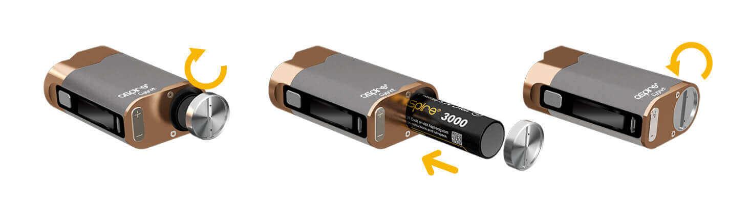 Aspire Cygnet - Batterie