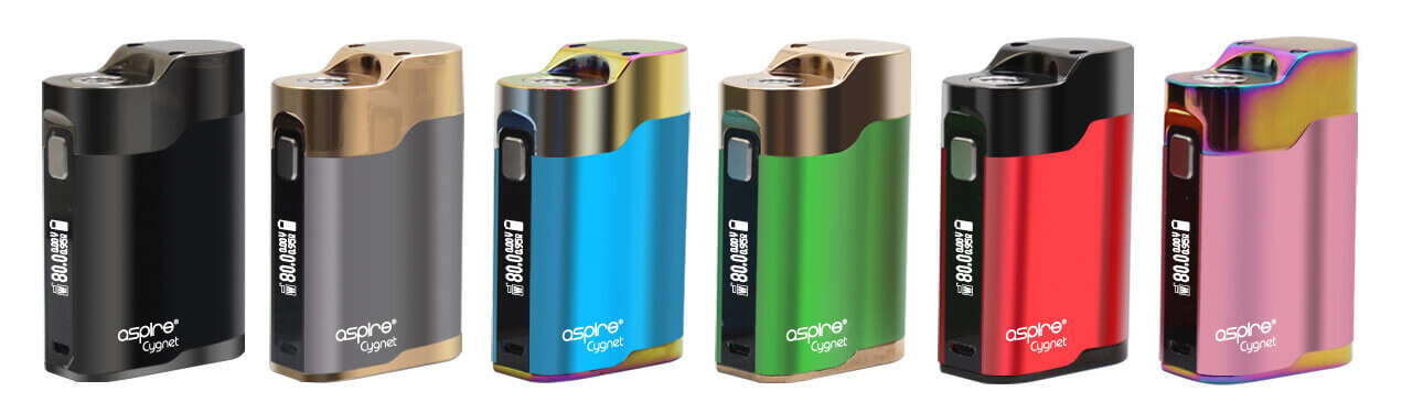 Aspire Cygnet - Couleurs