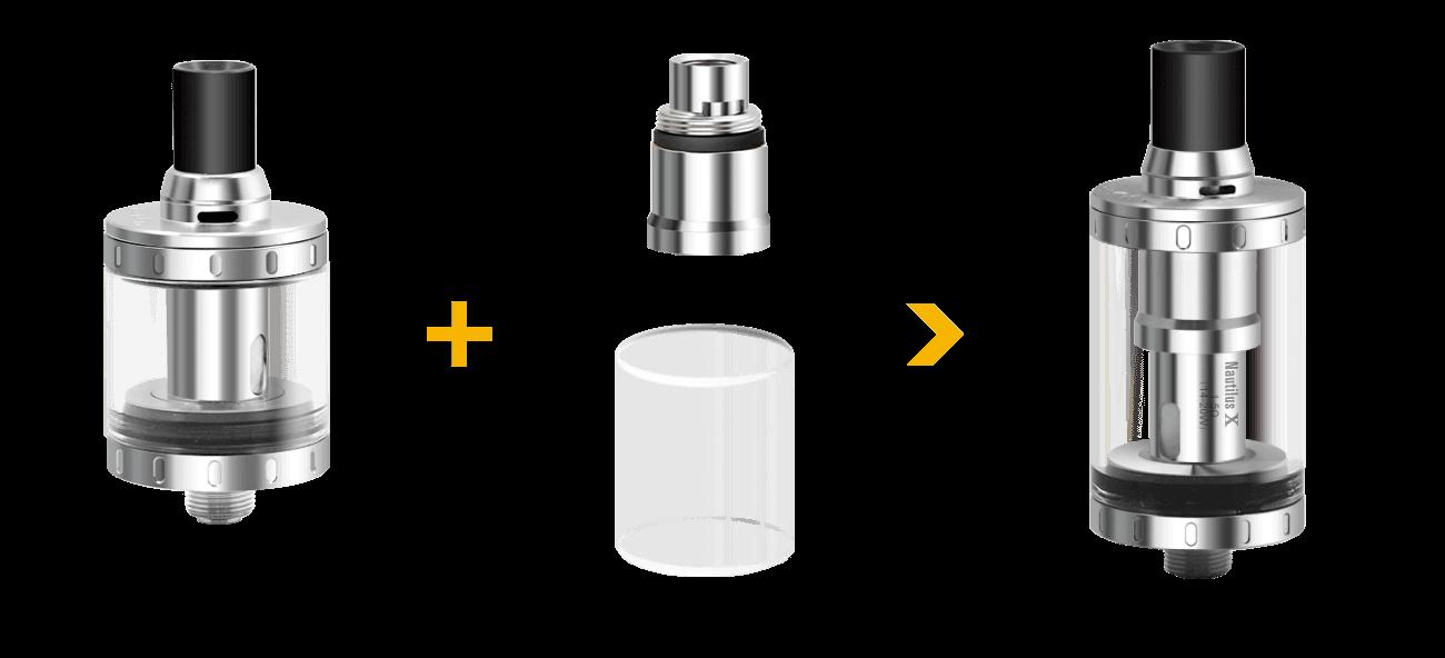 adaptateur 4 ml Nautilus X aspire