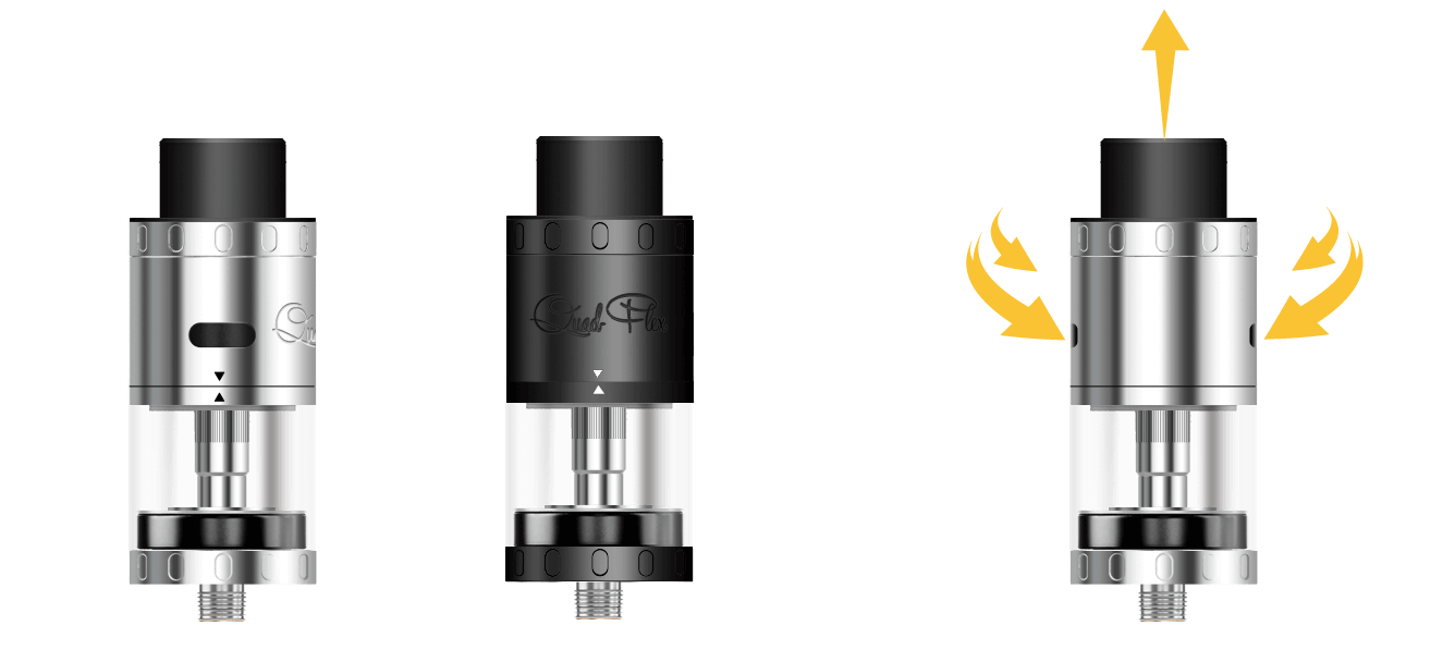 Quad-Flex RDTA ASPIRE